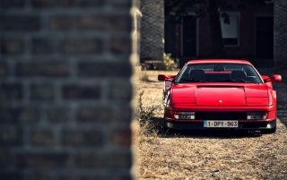 Old Style Ferrari wallpapers and stock photos