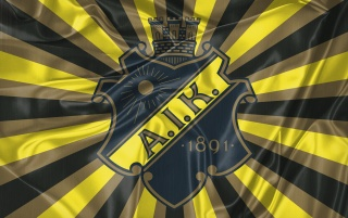 Retro flagga AIK hockey wallpapers and stock photos