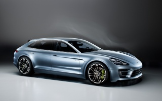2012 Porsche Panamera Sport Turismo Concept Studio Side wallpapers and stock photos