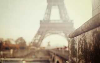 Foggy Day In Paris wallpapers and stock photos