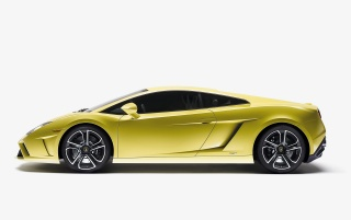 2013 Lamborghini Gallardo LP 560-4 Studio Side wallpapers and stock photos