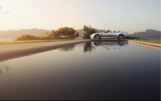 2013 Aston Martin DB9 Static Side wallpapers and stock photos