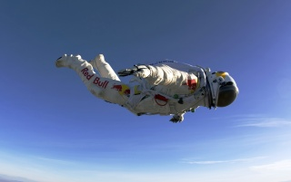 Felix Baumgartner Free Fall wallpapers and stock photos
