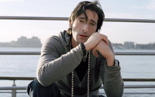Adrien Brody by the Water wallpapers and stock photos