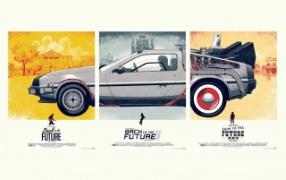 Back to the Future Series wallpapers and stock photos