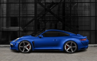 2012 TopCar Porsche Carrera 4 and 4S 991 Sketches Rendering Side wallpapers and stock photos