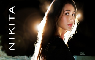 Maggie Q as Nikita wallpapers and stock photos