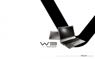 ASUS W3 notebook wallpapers and stock photos