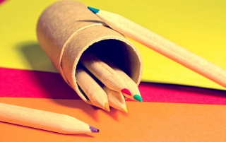 Colored Pencils wallpapers and stock photos