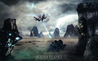 Aligma Planet wallpapers and stock photos