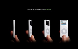 White iPods nano wallpapers and stock photos