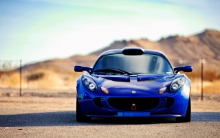 Albastru Lotus Exige față wallpapers and stock photos