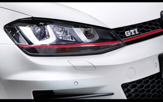 2012 Volkswagen Golf 7 GTI Concept Headlights wallpapers and stock photos