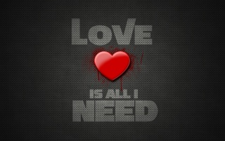 Next: Love Is All I Need
