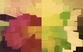 Multicolored 3D Blocks wallpapers and stock photos