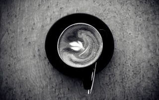 Negru și alb ceașcă de cafea wallpapers and stock photos