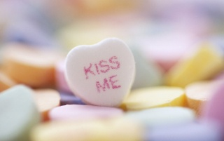 Kiss Me Heart Candy wallpapers and stock photos