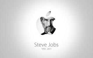 Steve Jobs Apple Homage wallpapers and stock photos