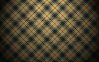 Blue and Orange Plaid Pattern wallpapers and stock photos