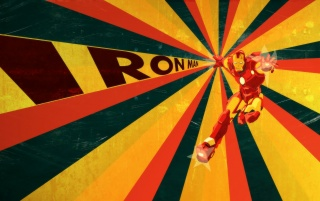 Retro Ironman Artwork wallpapers and stock photos