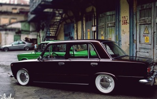 Previous: Black Lada 2101 Side Angle