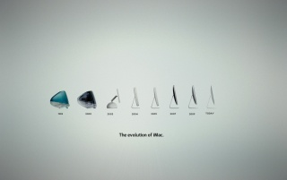 Apple iMac Evolution wallpapers and stock photos