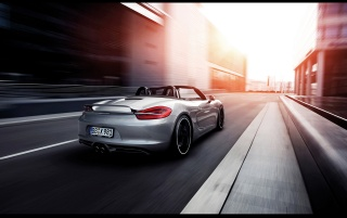 2013 TechArt Porsche Boxster Motion Rear wallpapers and stock photos