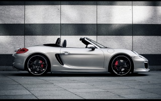2013 TechArt Porsche Boxster Static Side wallpapers and stock photos