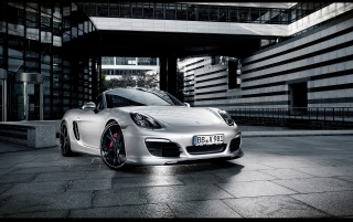 2013 TechArt Porsche Boxster Static Front Angle wallpapers and stock photos