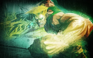 Street Fighter Guile wallpapers and stock photos