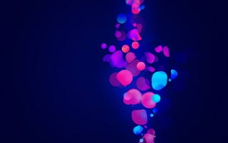 Abstract Blue & Pink Shapes wallpapers and stock photos