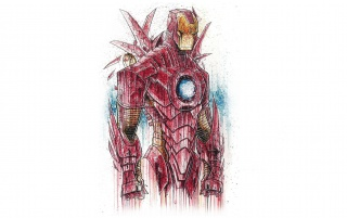 Ironman Suit Sketch wallpapers and stock photos