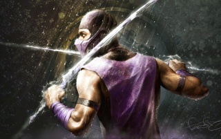 Random: RAIN - Mortal Kombat fan art