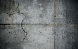 Grunge metal de Apple wallpapers and stock photos