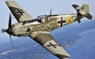 Messerschmitt Bf-109E wallpapers and stock photos