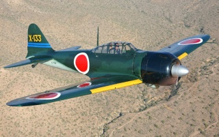 Mitsubishi A6M3 Zero wallpapers and stock photos