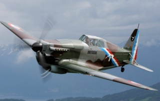 Morane Saulnier MS-406 wallpapers and stock photos