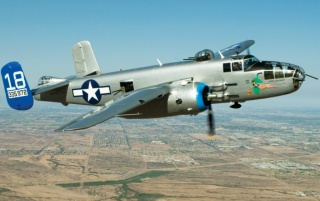 North American B-25J Mitchell wallpapers and stock photos