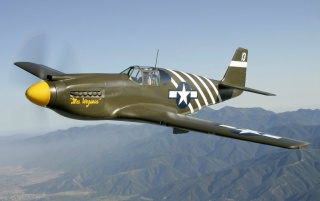 North American P-51A Mustang wallpapers and stock photos