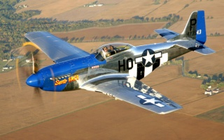 North American P-51D Mustang wallpapers and stock photos