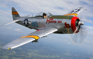 Republic P-47D Thunderbolt wallpapers and stock photos
