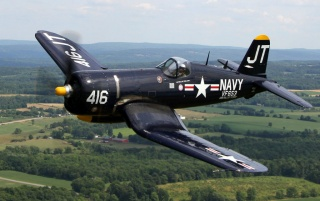Random: Chance Vought F-4U Corsair