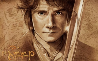 Der Hobbit Bilbo Beutlin Artwork wallpapers and stock photos
