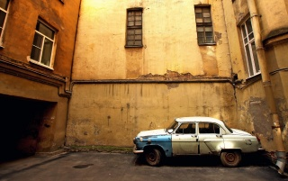 Old GAZ Volga wallpapers and stock photos