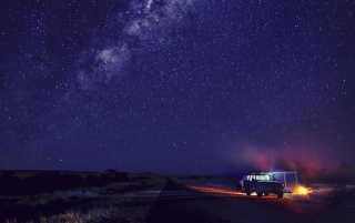 Camp and Starry Sky wallpapers and stock photos