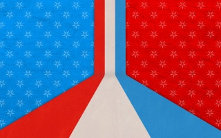 Previous: Red White and Blue Abstract
