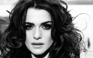 Next: Rachel Weisz Monochrome Close-up