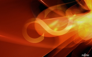 Fujitsu red shapes wallpapers and stock photos