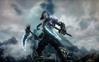 Darksiders 2 Character wallpapers and stock photos