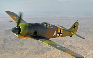 Focke Wulf FW-190A wallpapers and stock photos